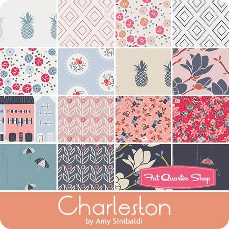 Charleston Half Yard Bundle <br/>Amy Sinibaldi for Art Gallery Fabrics