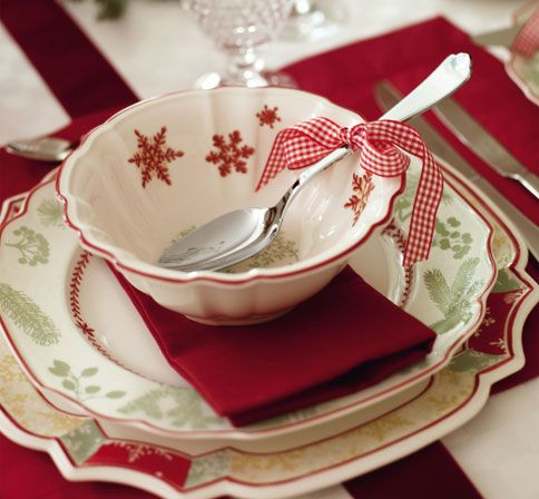 17 best ideas about christmas place setting on pinterest for Villeroy boch christmas