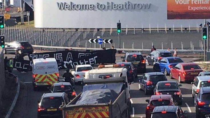 Κλειστό το αεροδρόμιο του Χίθροου λόγω διαδηλώσεων