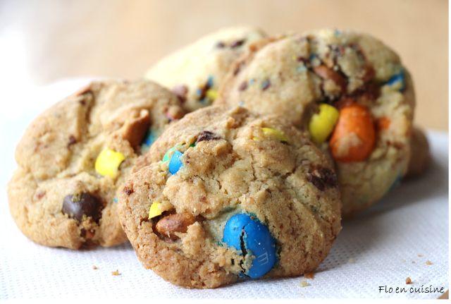 Cookies façon Laura Todd aux M&m's