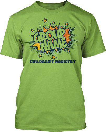 Childrenu0027s Ministry T Shirt Design #162