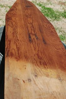 Berry Homespun Primitives: Wooden Ironing Board Clean-Up