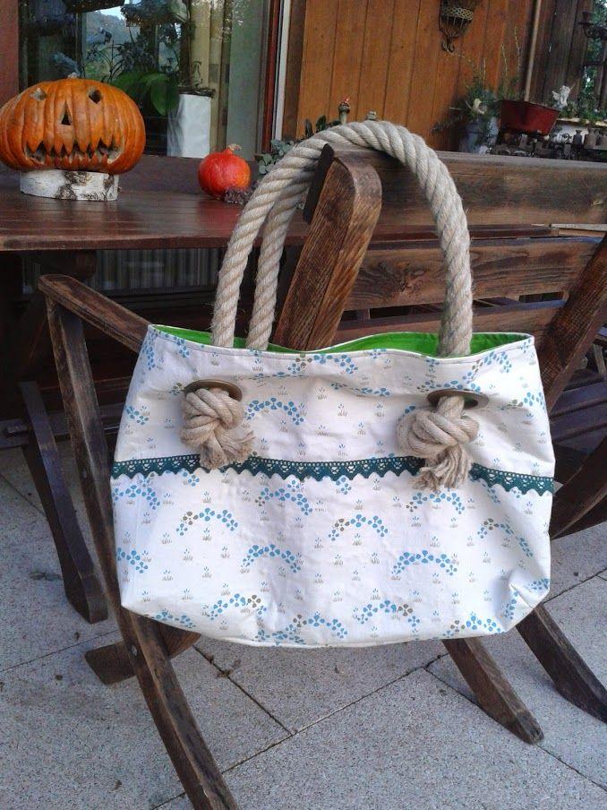 Strandtasche nach der kostenlosen Anleitung von Pech & Schwefel