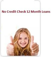 If you are suffering from bad creditor profile and want financial help with extend repayment option then #nocreditcheck12monthloans can be a right choice for your requirements. At this financial service borrowers don't need to undergo any documents verification process and repay back the approved amount within one year. www.nocreditcheck12monthloans.co.uk