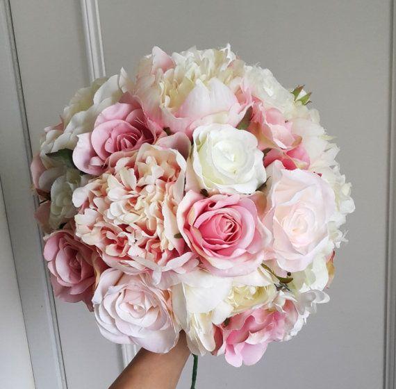 Wedding Artificial Flower Wedding Bridal by greengreencloud