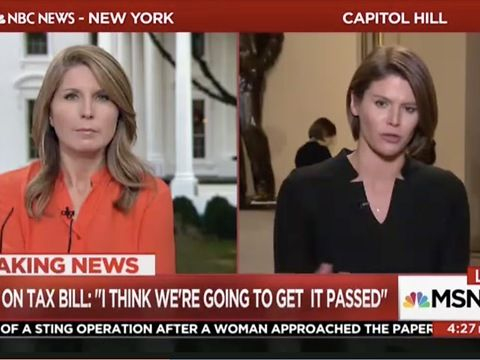 "MSNBC's Kasie Hunt had reported that Republican donors are threatening to disappear entirely if Republicans don't pass tax reform, citing Sen. Rob Portman (R-OH) as an example.<br><br>""If you're saying what they are buying, maybe Rob Portman shouldn't have endorsed a president who was against NAFTA,"" Wallace commented after Hunt's reporting.<br>""Rob Portman has spent his entire life in politics as a free trade advocate. So maybe when you make a deal with the devil, this is what you get,""…"