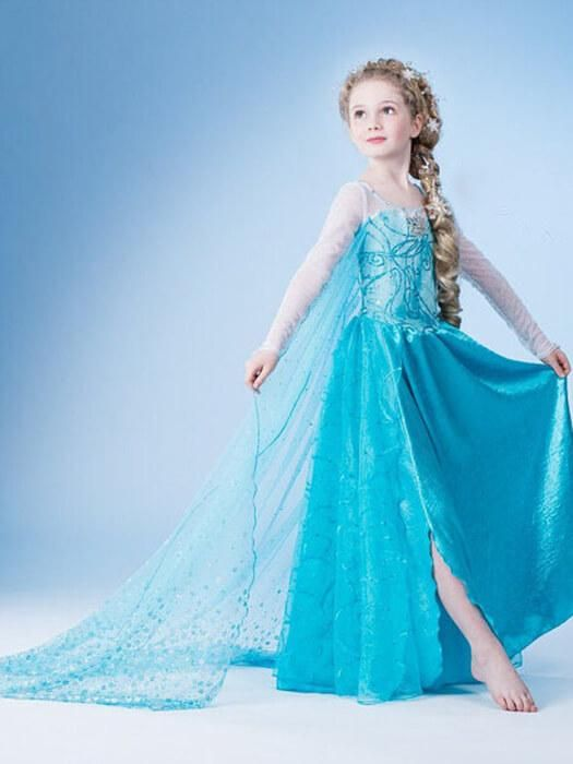 e83ab904edc3d Elsa Princess Dress in 2019 | Princess Dresses | Princess dress kids ...