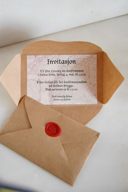 Hva med noe som dette som invitasjon til murs kalas?