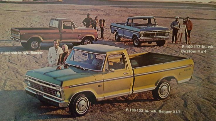 1973 Ford Pickup Trucks