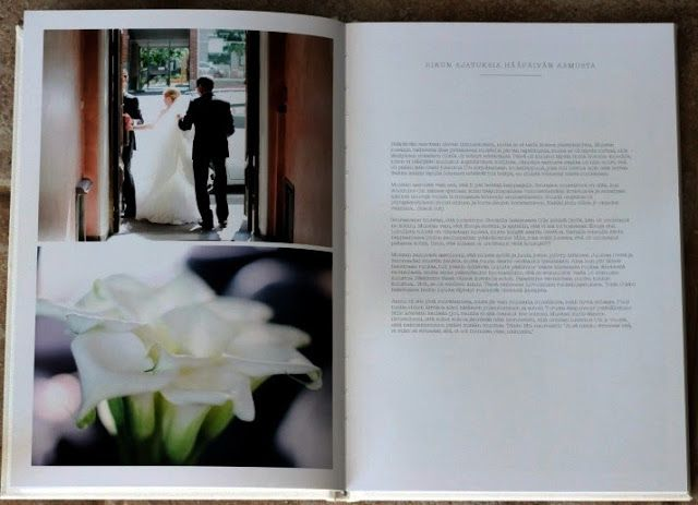 Ideas, items & issues: Häätarina kovissa kansissa wedding book
