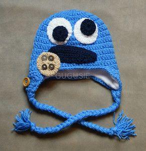 Monster - niebieski