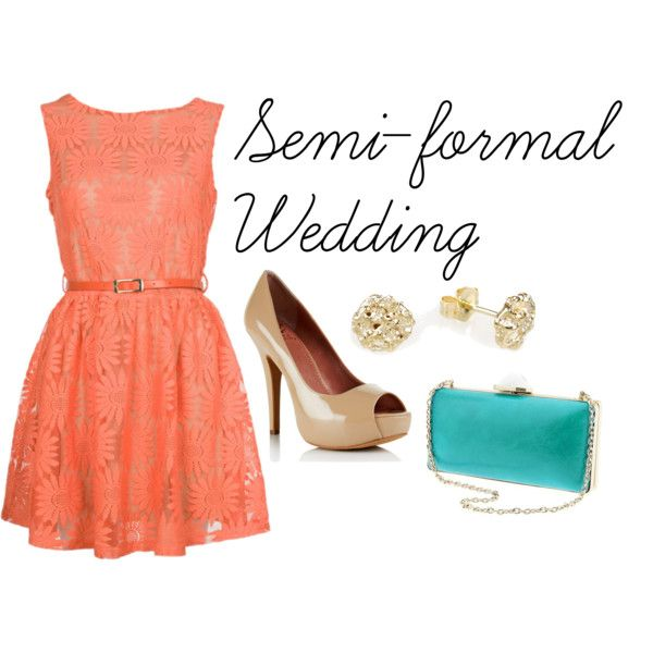 """Semi-formal wedding"" by observantturtle-wm on Polyvore"