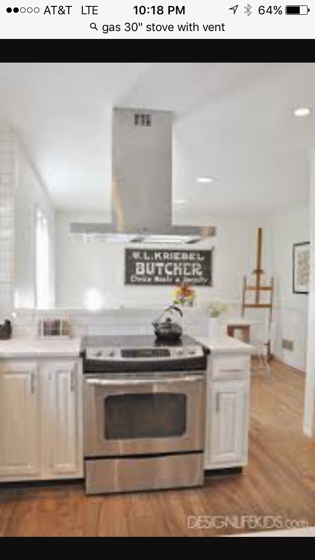 Kitchen Here Is A Range On A