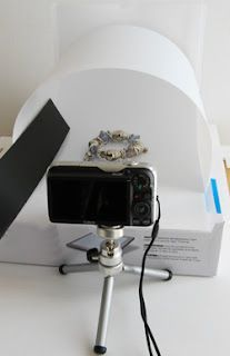 do it yourself, do it right. tutorial - ideas on photographing jewelry using white background... for ebay selling a must