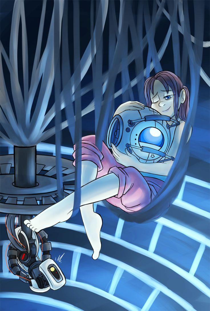 Portal 2: Hammock by Ka-Star.deviantart.com on @DeviantArt >> Just chellin' out ;)