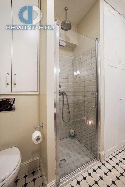Ванная комната в стиле контемпорари