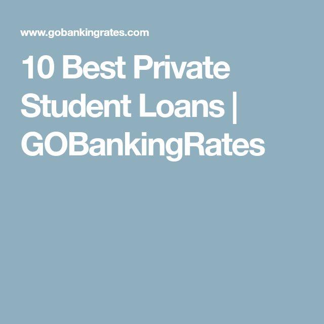 10 Best Private Student Loans | GOBankingRates