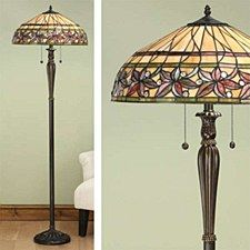 Interiors 1900 Ashtead Tiffany Floor Lamp