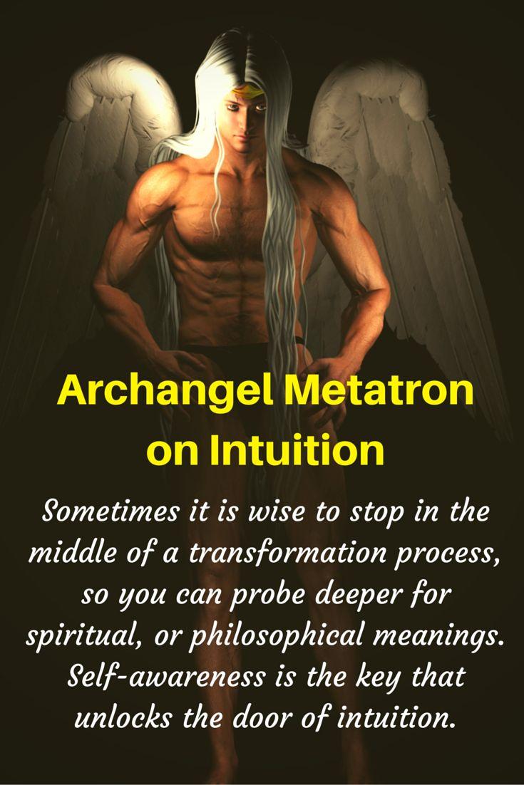Archangel Metatron Quote on Intuition through Angel Messenger Jill Harrison