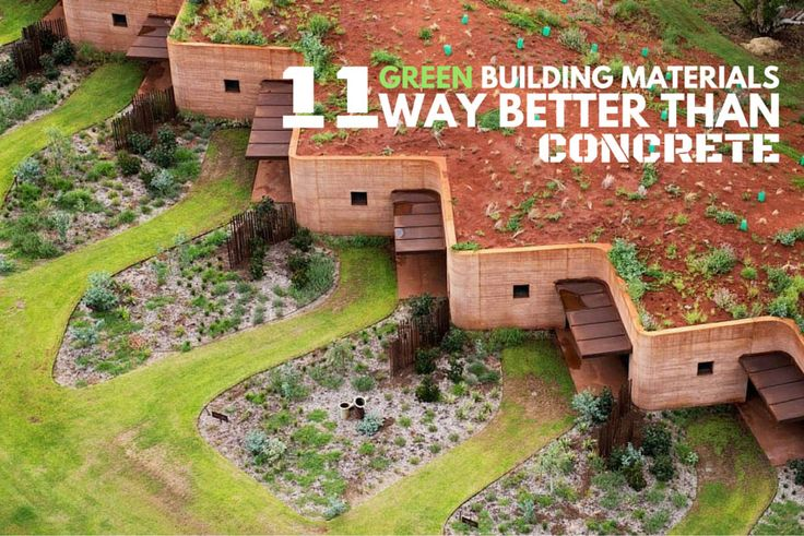 Green Building Ideas Part - 45: Five Sustainable Building Materials That Could Transform Construction |  This Big City | Green Building Materials | Pinterest | Sustainable Building  ...