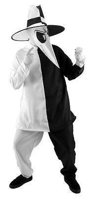 Costumes For All Occasions EL402296 Spy Vs Spy Blk-White Sm-Md. Best Price