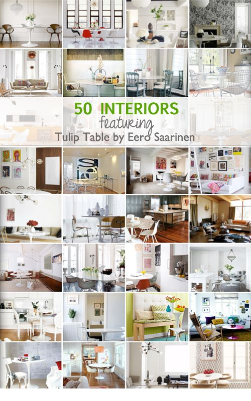 The Tulip Table by Eero Saarinen Extravaganza
