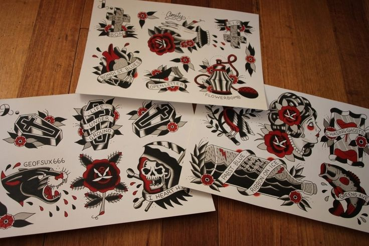 set of 3 x a3 sized flash sheets printed on 280gsm card all prints hand signed flash art. Black Bedroom Furniture Sets. Home Design Ideas