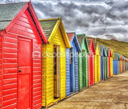 plážové chatky — Stock obrázek #13736593
