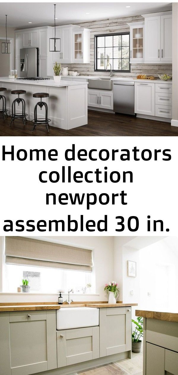 Home Decorators Collection Newport Assembled 30 In X 15 In X 12 In Wall Kitchen Cabinet With Do Kitchen Cabinets Kitchen Flooring Home Decorators Collection