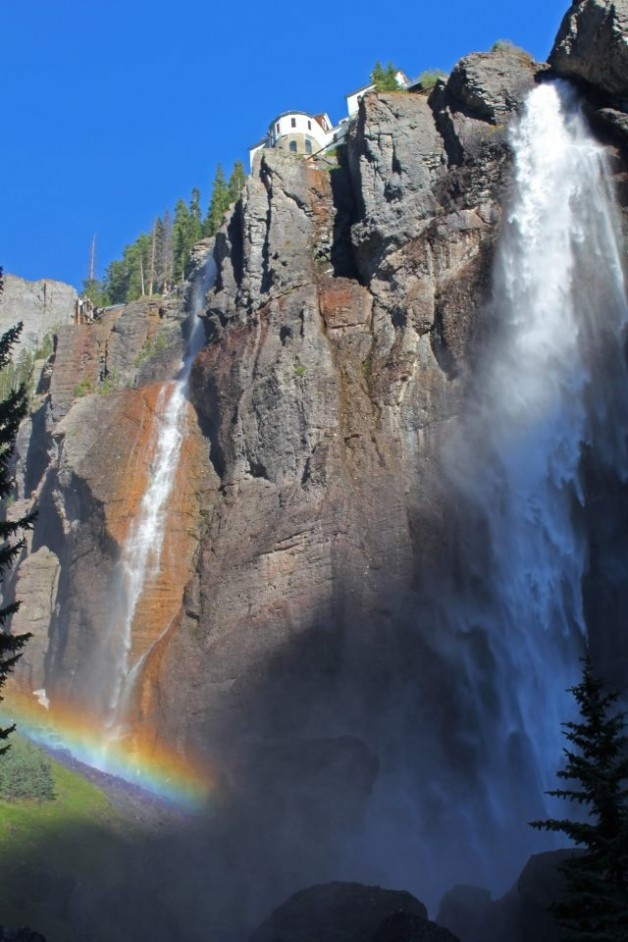End of the Rainbow... found. #Telluride