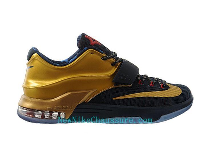 Nike KD 7 Premium Gold Medal - Chaussure De Basket-ball pour Homme Pas Cher