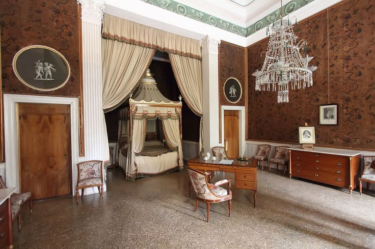 Camera da letto di Napoleone a Villa Pisani a Sra (Venezia)