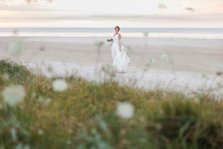 photo mariage plage cherrueix