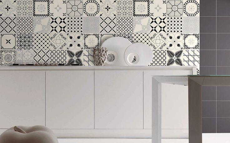 Oltre 25 fantastiche idee su piastrelle da cucina su pinterest piastrelle bianche piastrelle - Piastrelle geometriche cucina ...