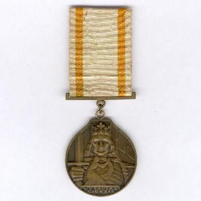 Order of Vytautas the Great, bronze medal (Vytauto Didžiojo Ordino medalis bronza), 1930-1940 issue