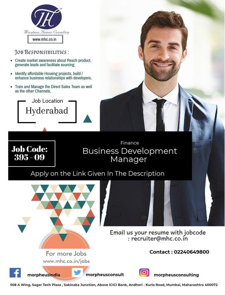 Business development manager 39509 hyderabad