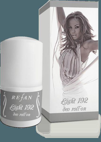 Umple-ti ziua de puritate si prospetime cu mirosul placut de mosc, ambra si santal al deodorantului Refan 192.  Detalii: http://www.danka.ro/prod/deo-roll-on-192-light-486