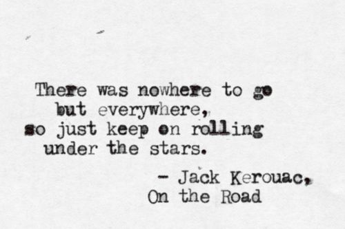 jack kerouac quotes on the road