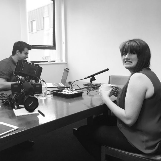 From Our Instagram Account – Podcasting rocks – starting another recording session with @lilacfilms