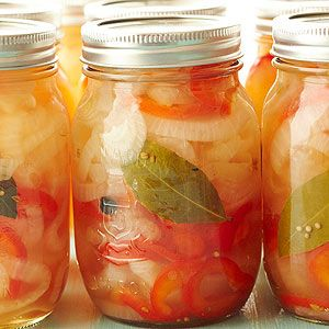 Pickled Walla Walla Onions From Better Homes and Gardens, ideas and improvement projects for your home and garden plus recipes and entertaining ideas.