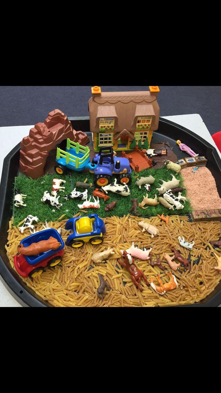 Farm used in reception class for animals topic