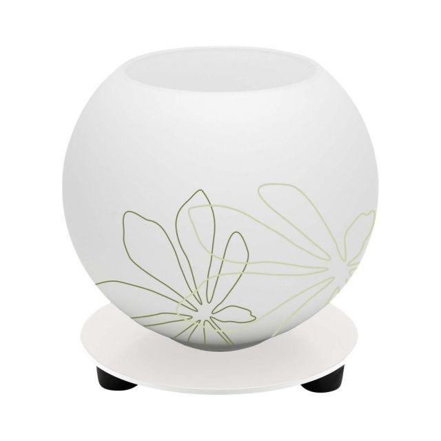 POP Brilliant - stolná lampa - zelený vzor - ø 140mm