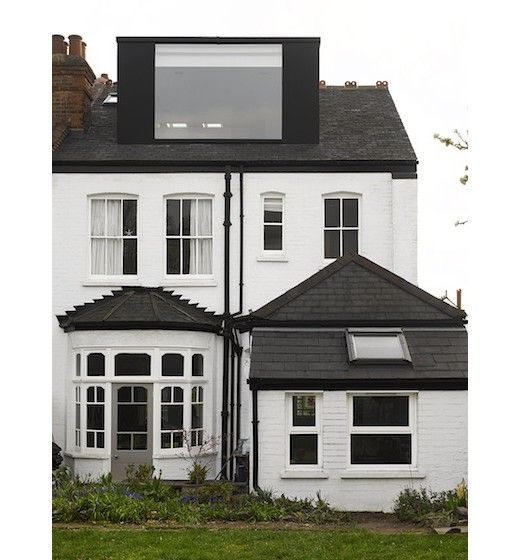 Rear dormer by Mulroy, London.