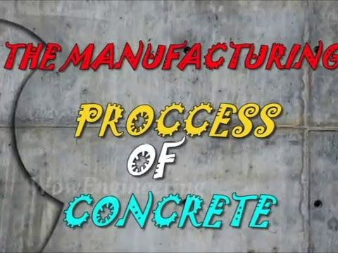 Manufacturing Process of Concrete Mixture - YouTube