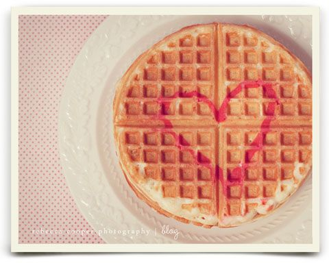 Waffles I hope my future valentine will make for me.