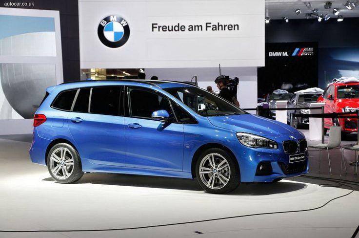 На автосалоне в Женеве BMW представила семиместный компактвен 2 SeriesGranTourer.