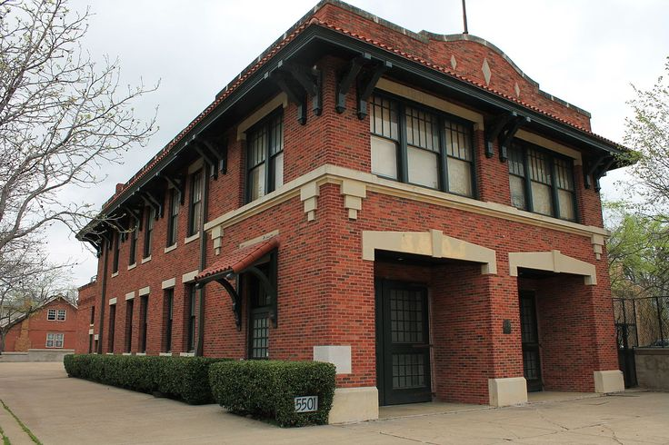 Dallas Fire Station No. 16, 5501 Columbia Avenue, Dallas, Texas. Added to the National Register of Historic Places listings in Dallas County, Texas, April, 1997.