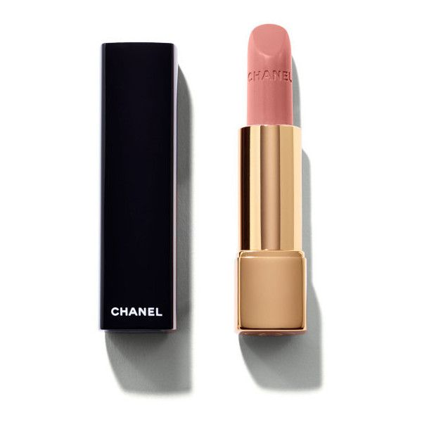 CHANEL Rouge Allure Intense Long-Wear Lip Colour ($37) ❤ liked on Polyvore featuring beauty products, makeup, lip makeup, lipstick, long wearing lipstick, chanel, long wear lipstick and chanel lipstick