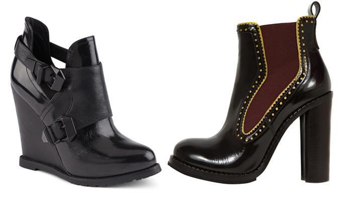 Женские туфли сапоги