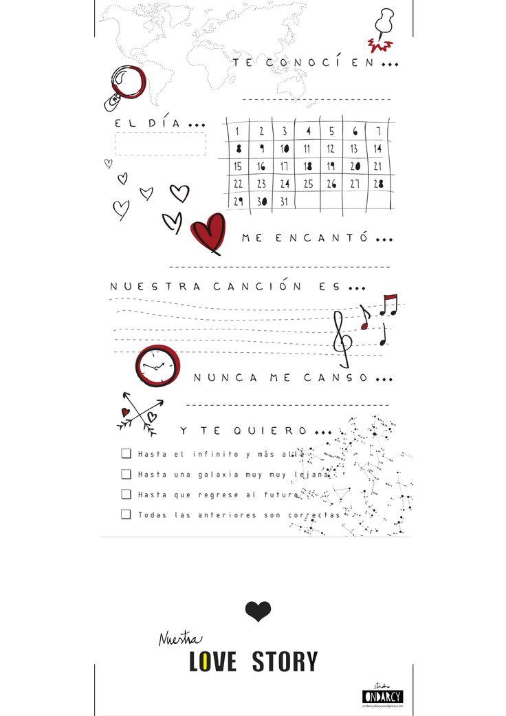 Regalo personalizado para San Valentin // St Valentine personalized gift